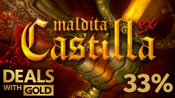 Cursed Castilla discount for xbox one for being gold member