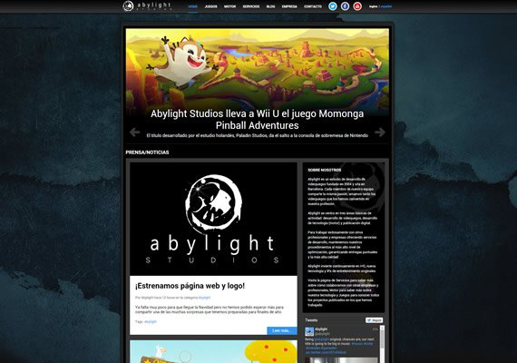 abylight studios new website