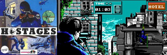 ZX Spectrum game called Hostages, a revolutionary game in the 90s