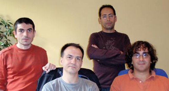 Abylight studios founders back in the days, 2008