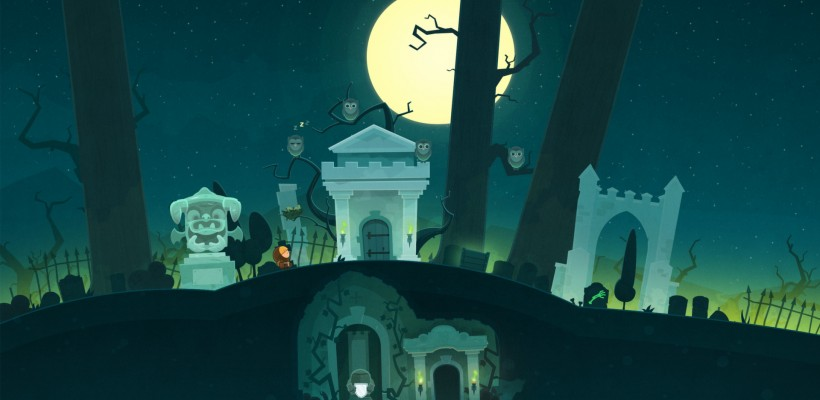 Tiny thief is going to Wii U, and here we can appreciate the scary cemetery zone