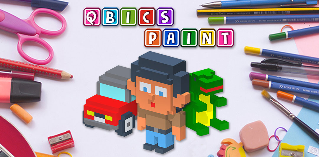 Qbics Paint for iOS devices, apple devices, the best creative indie suitable for everyone